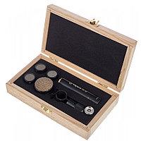 Микрофон студийный конденсаторный Октава МК-012-20 в деревянном футляре