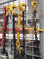 Цепные стяжные ремни в Атырау, размер цепь 8мм х 24мм, длина 10м. рабочая нагрузка 4000кг, разрывная 8000кг, фото 1