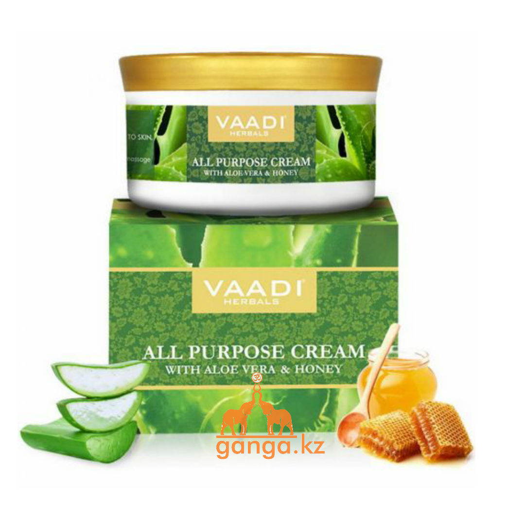 Крем Ваади с Алоэ и Медом (All Purpose Cream VAADI Herbals),150 гр