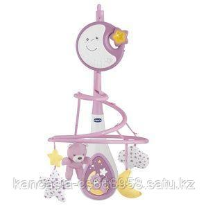 Chicco Мобиль, Chicco, Next2 Dreams, розовый