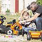 Трактор педальный строительный с 2-мя ковшами и прицепами Smoby, фото 6