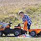 Трактор педальный строительный с 2-мя ковшами и прицепами Smoby, фото 4
