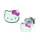 """Серьги для прокола STUDEX System75 """"Hello Kitty"""", фото 3"""