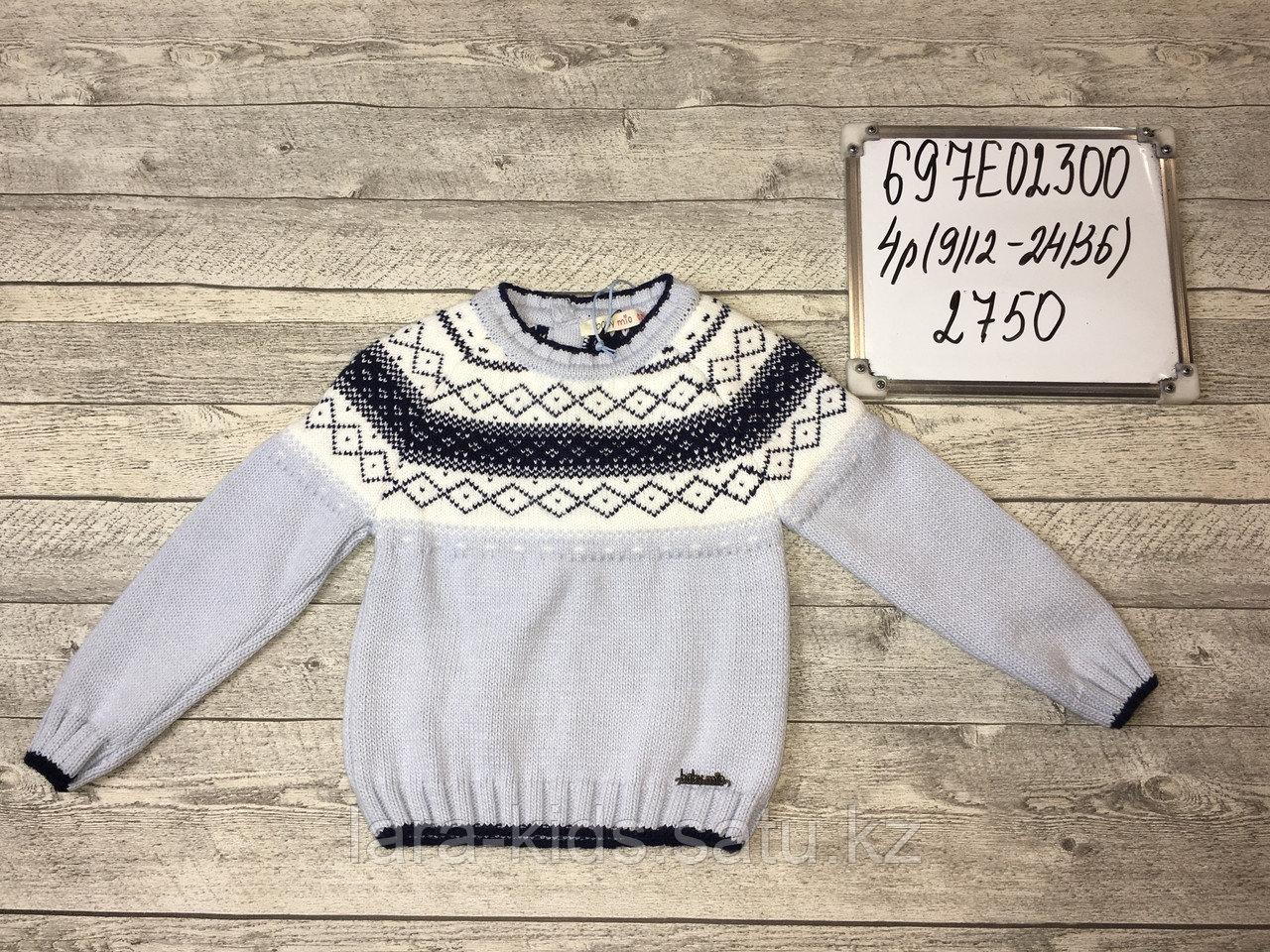 Вязанные кофты и свитера для мальчиков