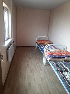 Кровать одноярусная для строителей