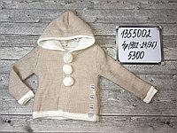 Вязанные кофты и свитера для девочек, фото 1
