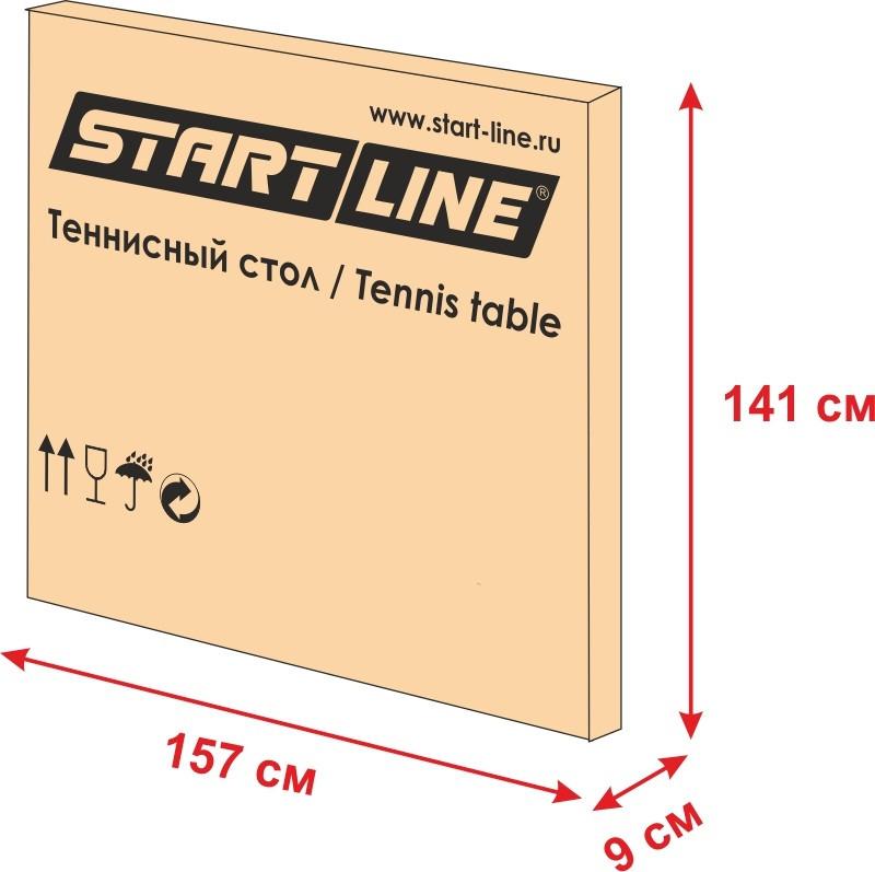 Теннисный стол Start Line Hobby Light - фото 3