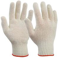 Перчатки ХБ рабочие. Класс вязки 10. Кол-во нитей 5.