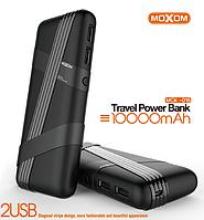Power Bank внешний аккумулятор на 10000 мАч, MOXOM MСК-016