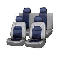 Чехлы сиденья полиэстер 11 предм. Skyway DRIVE серый, синий