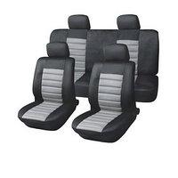 Чехлы сиденья полиэстер 11 предм. Skyway DRIVE черный, серый