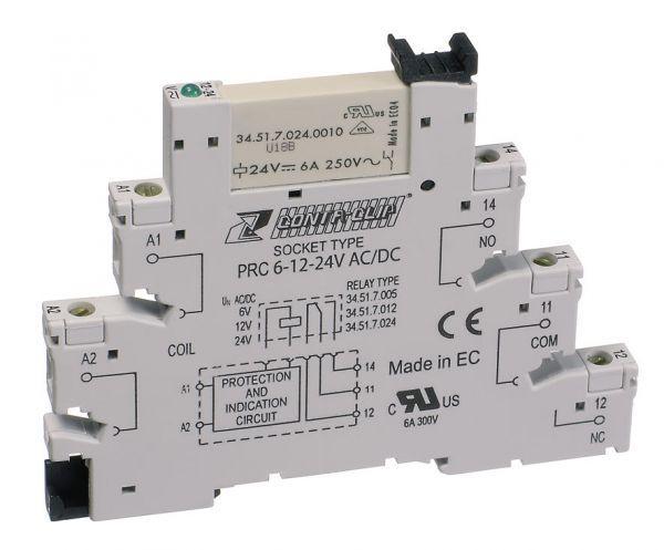 Релейный модуль PRCU 1/24 V DC