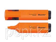 """Маркер текстовыделитель SILWERHOF """"Blaze"""" 1-4 мм, оранжевый"""