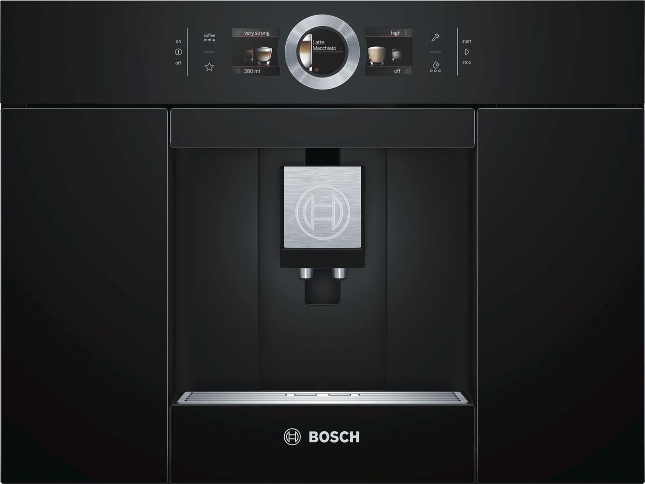 Встраиваемая автоматическая кофемашина Bosch Чёрный CTL636EB1