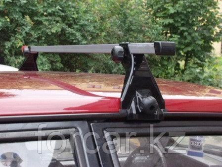 Багажник Atlant для автомобилей с водостоками (эконом-класс, алюминиевые дуги), фото 2
