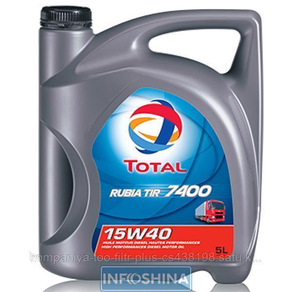 Total Rubia 7400 15w40 5л