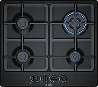 Газовая варочная панель Bosch 60 cm черный PGH6B6B90R