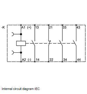 Вспомогательный контактор 3RH1131-1BM40, фото 2