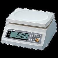 Фасовочные весы CAS модель  SW