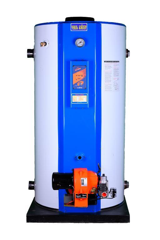Напольный жидкотопливный двуконтурный котел Чеиль STS-500 Oil boiler