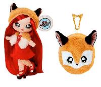 Na! Na! Na! Surprise - Мягкая куколка Roxie Foxy с животным-помпоном-сумочкой Лисичкой