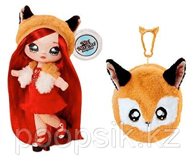 Na! Na! Na! Surprise - Мягкая куколка Roxie Foxy с животным-помпоном-сумочкой Лисичкой - фото 1