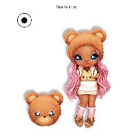 Na! Na! Na! Surprise - Мягкая куколка Sarah Snuggles с животным-помпоном-сумочкой Медвежонком