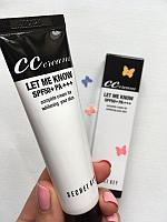 СС Крем для лица  Secret Key CC cream Let Me Know SPF 50+PA+++ 30 ml.
