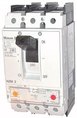 Автоматический выключатель 250А NZMB2-A250 MOELLER