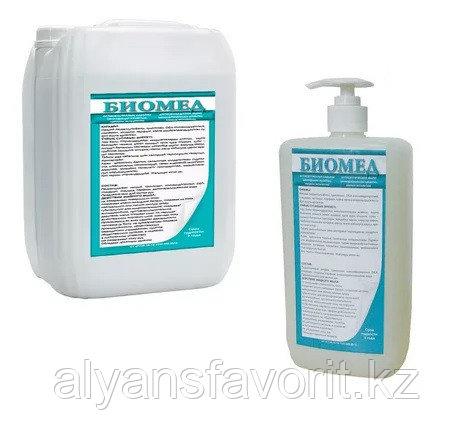 Биомед - антибактериальное / бактерицидное жидкое мыло для рук 1 литр .РК