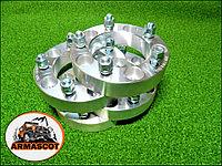 Проставки колесные, ступичные 6х139,7 +35 мм. (ЦО 108 мм.) в комплекте 4