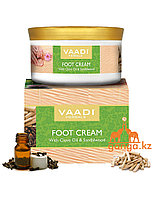 Крем Ваади  для ног с маслом гвоздики и сандалом(Foot cream with clove oil and sandal VAADI Herbals),150 грамм