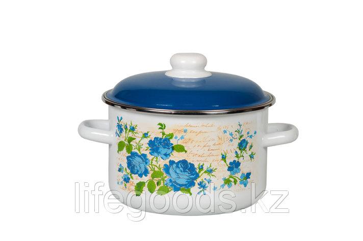Кастрюля 3л Синяя роза, 6RD181M, фото 2