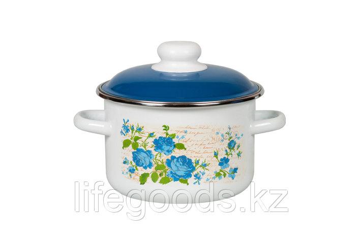 Кастрюля 2л Синяя роза, 6RD161M, фото 2