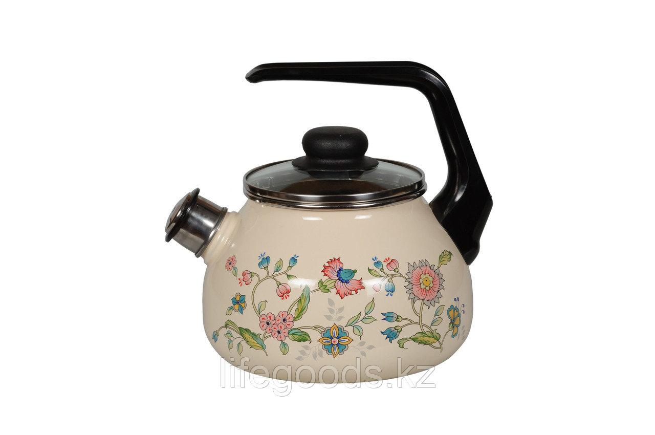 Чайник 2л Луговые цветы, 4с210я