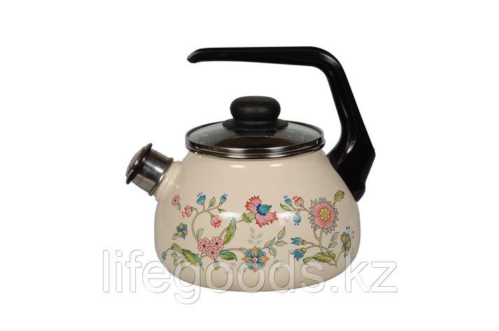 Чайник 2л Луговые цветы, 4с210я, фото 2