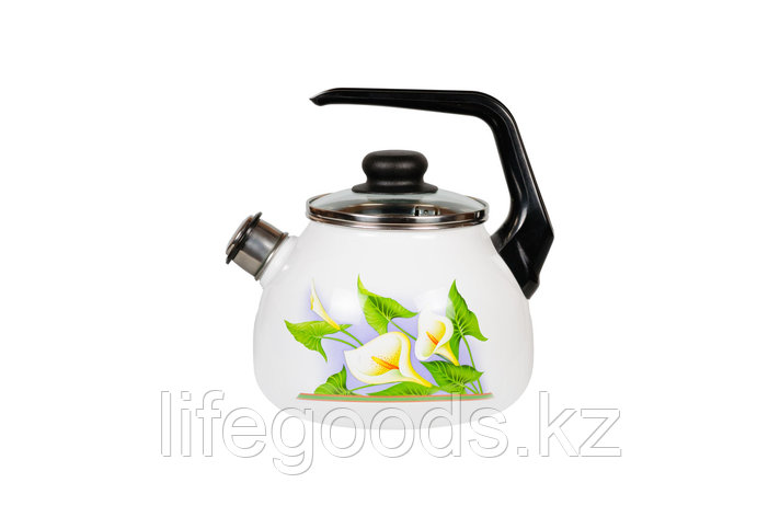 Чайник 2л Каллы, 4с210я, фото 2