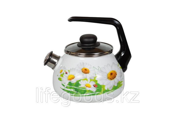 Чайник 2л Ромашки, 4с210я, фото 2