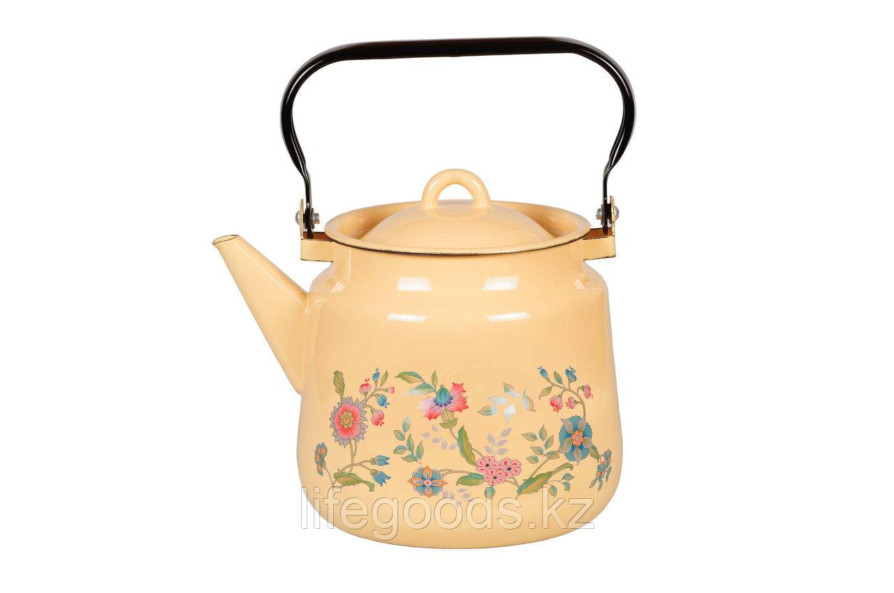 Чайник 3.5л Луговые цветы, 1с26с