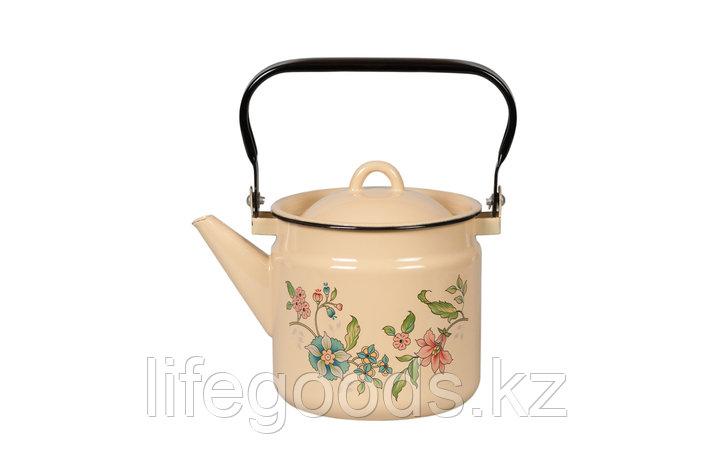 Чайник 2л Луговые цветы, 1с25с, фото 2