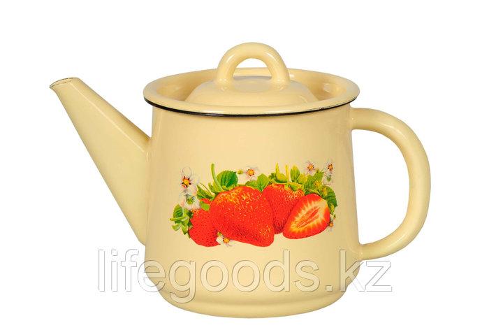 Чайник 2л Клубника садовая, 1с25с, фото 2