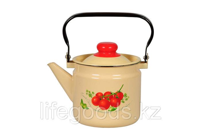 Чайник 2л Томаты, 1с25с, фото 2