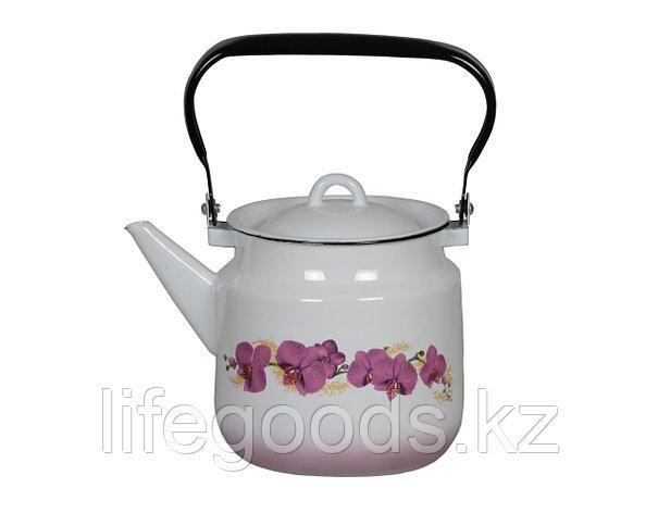 Чайник 2л Орхидея, 1с25я, фото 2