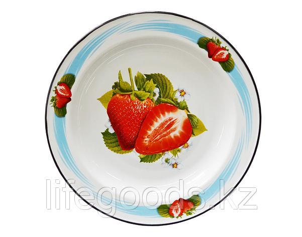 Блюдо 2л Клубника садовая, 1с6с/БД, фото 2