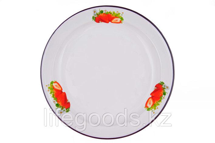 Блюдо 2л Клубника садовая, 1с6с/Б, фото 2