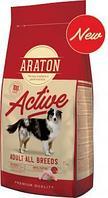 Сухой корм для активных собак всех пород Araton Adult Active