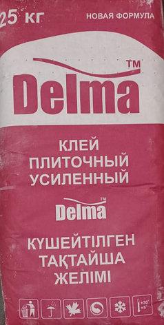 Клей кафельный Усиленныйт Delma 25кг, фото 2