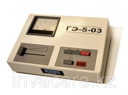 Аппарат для гальванизации полости рта ГЭ-5-03