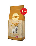 Сухой корм для собак всех пород с чувствительным пищеварением Araton Adult Lamb & Rice ягненок с рисом