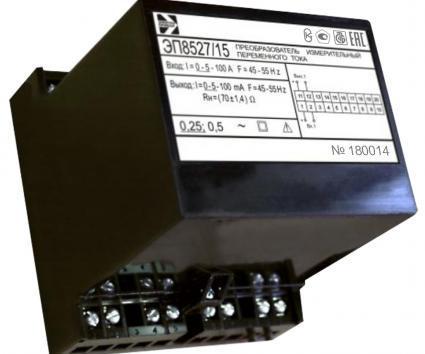 Измерительные преобразовательные переменного тока ЭП8527
